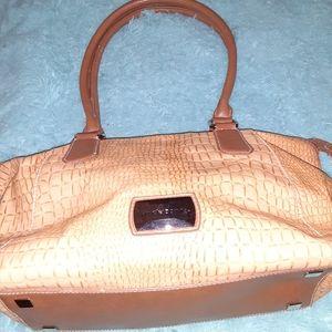 Liz Claiborne Faux Alligator purse